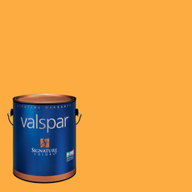 Creative Ideas for Color by Valspar 1-Gallon Interior Matte Pumpkin Bread Latex-Base Paint and Primer in One