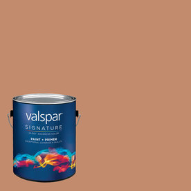 Creative Ideas for Color by Valspar Gallon Interior Matte Cedar Chest Paint and Primer in One