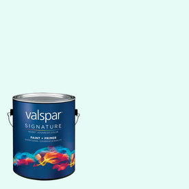 Creative Ideas for Color by Valspar Gallon Size Container Interior Matte Pre-Tinted Cool Sheets Latex-Base Paint and Primer in One (Actual Net Contents: 128.29-fl oz)
