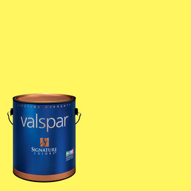 Creative Ideas for Color by Valspar Gallon Interior Matte Gone Bananas Paint and Primer in One