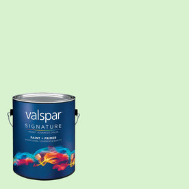 Creative Ideas for Color by Valspar Gallon Size Container Interior Eggshell Pre-Tinted Cucumber Peel Latex-Base Paint and Primer in One (Actual Net Contents: 129.33-fl oz)