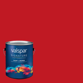 Creative Ideas for Color by Valspar Gallon Interior Satin Grandma's Cherry Pie Paint and Primer in One