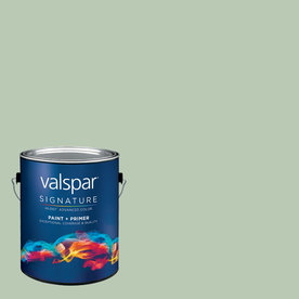 Creative Ideas for Color by Valspar Gallon Interior Satin Hot Springs Paint and Primer in One