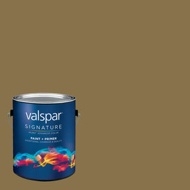 Creative Ideas for Color by Valspar Gallon Size Container Interior Semi-Gloss Pre-Tinted Pine Bark Latex-Base Paint and Primer in One (Actual Net Contents: 126.91-fl oz)