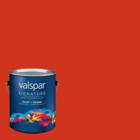 Creative Ideas for Color by Valspar Gallon Interior Semi-Gloss Apple Peel Paint and Primer in One