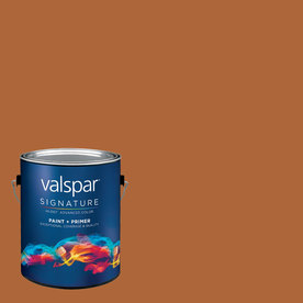 Creative Ideas for Color by Valspar Gallon Size Container Interior Semi-Gloss Pre-Tinted Hearth Latex-Base Paint and Primer in One (Actual Net Contents: 127.33-fl oz)