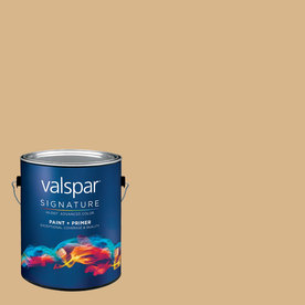 Creative Ideas for Color by Valspar Gallon Interior Semi-Gloss Pink Chocolate Paint and Primer in One
