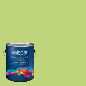Creative Ideas for Color by Valspar Gallon Interior Semi-Gloss Bamboo Shoot Paint and Primer in One