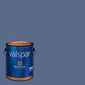 Creative Ideas for Color by Valspar Gallon Interior Eggshell Blue Hyacinth Paint and Primer in One