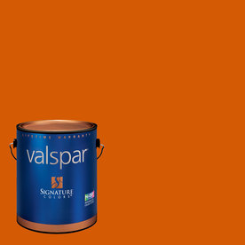 Creative Ideas for Color by Valspar Gallon Size Container Interior Eggshell Pre-Tinted Copper Glow Latex-Base Paint and Primer in One (Actual Net Contents: 128.56-fl oz)
