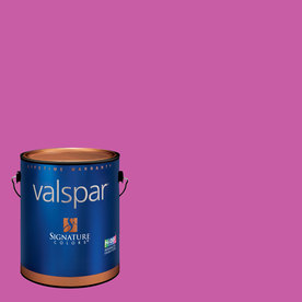 Creative Ideas for Color by Valspar Gallon Interior Eggshell Raspberry Tart Paint and Primer in One