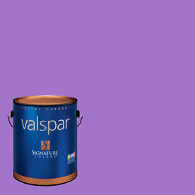 Creative Ideas for Color by Valspar Gallon Interior Eggshell Wild Grape Paint and Primer in One
