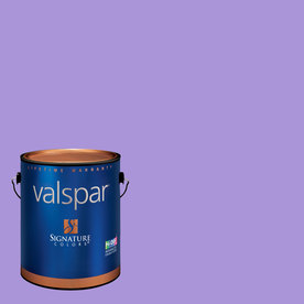 Creative Ideas for Color by Valspar Gallon Size Container Interior Eggshell Pre-Tinted Rocker Girl Latex-Base Paint and Primer in One (Actual Net Contents: 128.29-fl oz)