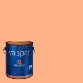 Creative Ideas for Color by Valspar 1-Gallon Interior Semi-Gloss Soft Coral Latex-Base Paint and Primer in One