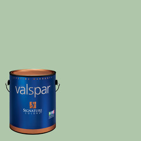 Creative Ideas for Color by Valspar Gallon Interior Semi-Gloss Juniper Breeze Paint and Primer in One