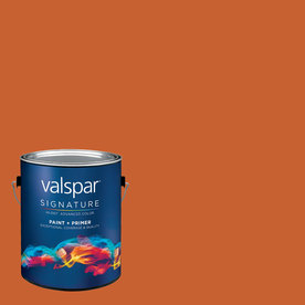 Creative Ideas for Color by Valspar Gallon Size Container Interior Semi-Gloss Pre-Tinted Earthen Rose Latex-Base Paint and Primer in One (Actual Net Contents: 127.96-fl oz)