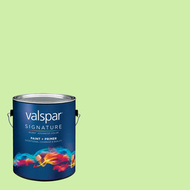 allen + roth Colors by Valspar Gallon Interior Matte After Dinner Mint Paint and Primer in One