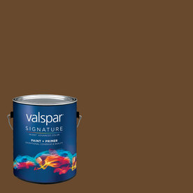 allen + roth Colors by Valspar Gallon Size Container Interior Matte Pre-Tinted Cup Of Joe Latex-Base Paint and Primer in One (Actual Net Contents: 127.98-fl oz)