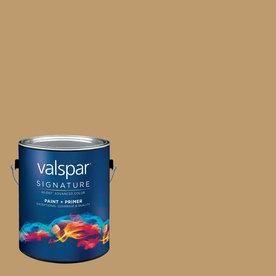 allen + roth Colors by Valspar Gallon Size Container Interior Matte Pre-Tinted Brownstone Walkup Latex-Base Paint and Primer in One (Actual Net Contents: 129.27-fl oz)