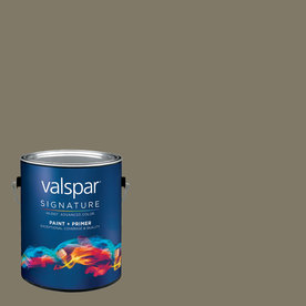 allen + roth Colors by Valspar Gallon Interior Eggshell Man Cave Paint and Primer in One