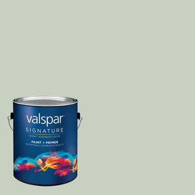 allen + roth Colors by Valspar Gallon Interior Eggshell Foggy Mist Paint and Primer in One