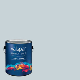 allen + roth Colors by Valspar Gallon Interior Eggshell Sky Light View Paint and Primer in One