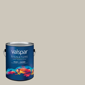 allen + roth Colors by Valspar Gallon Interior Eggshell Shaken Not Stirred Paint and Primer in One