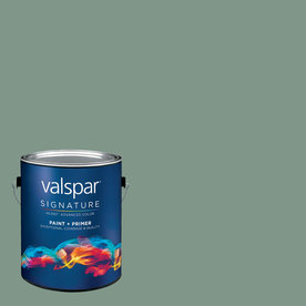 allen + roth Colors by Valspar 1-Gallon Interior Satin Sea Port Latex-Base Paint and Primer in One