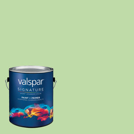allen + roth Colors by Valspar Gallon Size Container Interior Satin Pre-Tinted Bay Area Latex-Base Paint and Primer in One (Actual Net Contents: 127.79-fl oz)
