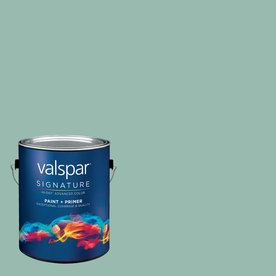 allen + roth Colors by Valspar Gallon Interior Semi-Gloss Evening Stroll Paint and Primer in One