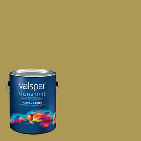 allen + roth Colors by Valspar 1-Gallon Interior Semi-Gloss Urban Jungle Latex-Base Paint and Primer in One