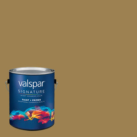 allen + roth Colors by Valspar Gallon Interior Semi-Gloss River Oaks Paint and Primer in One