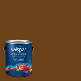 allen + roth Colors by Valspar Gallon Size Container Interior Eggshell Pre-Tinted Barista Latex-Base Paint and Primer in One (Actual Net Contents: 127.83-fl oz)