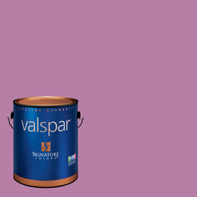 Valspar Gallon Interior Satin Purple Stripe Paint and Primer in One