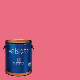 Valspar Hint Of Cherry Satin Latex Interior Paint and Primer in One (Actual Net Contents: 129.96-fl oz)