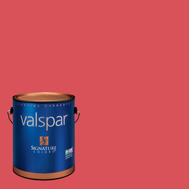 Valspar Whipped Strawberry Matte Latex Interior Paint and Primer in One (Actual Net Contents: 128.66-fl oz)