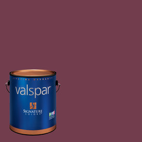 Valspar Gallon Interior Semi-Gloss Berry Brown Paint and Primer in One