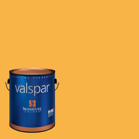 Valspar Brushed Orange Semi-Gloss Latex Interior Paint and Primer in One (Actual Net Contents: 128.41-fl oz)