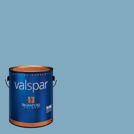 Valspar Gallon Interior Satin Soft Skies Paint and Primer in One