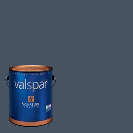 Valspar Indigo Streamer Satin Latex Interior Paint and Primer in One (Actual Net Contents: 128.21-fl oz)