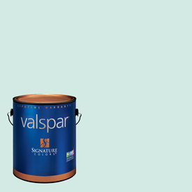Valspar Gallon Interior Semi-Gloss Bay Mist Paint and Primer in One