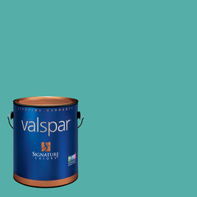 Valspar Gallon Interior Semi-Gloss Twilight Meadow Paint and Primer in One