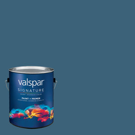 Valspar Deep Sea Diving Eggshell Latex Interior Paint and Primer in One (Actual Net Contents: 127.3-fl oz)