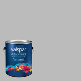 Valspar Autumn Fog Matte Latex Interior Paint and Primer In One (Actual Net Contents: 119.23-fl oz)