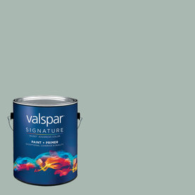 Valspar Gallon Interior Semi-Gloss Tropical Bay Paint and Primer in One