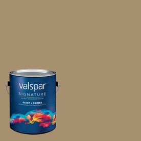 Valspar Gallon Interior Semi-Gloss Tempered Allspice Paint and Primer in One