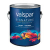 Valspar 120 fl oz Interior Eggshell White Paint and Primer In One