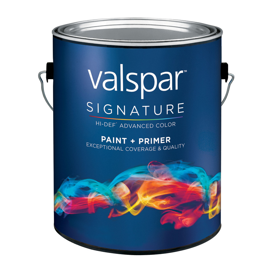 Shop Valspar Signature Gallon Size Container Interior Eggshell Tintable White Latex Base Paint