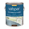Valspar Gallon Interior/Exterior Gloss Porch and Floor Brownstone Paint