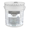 Valspar Aluminum Satin Oil-Based Exterior Paint (Actual Net Contents: 640-fl oz)